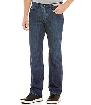 BOSS Green Kansas Regular-Fit Stretch Denim Jeans