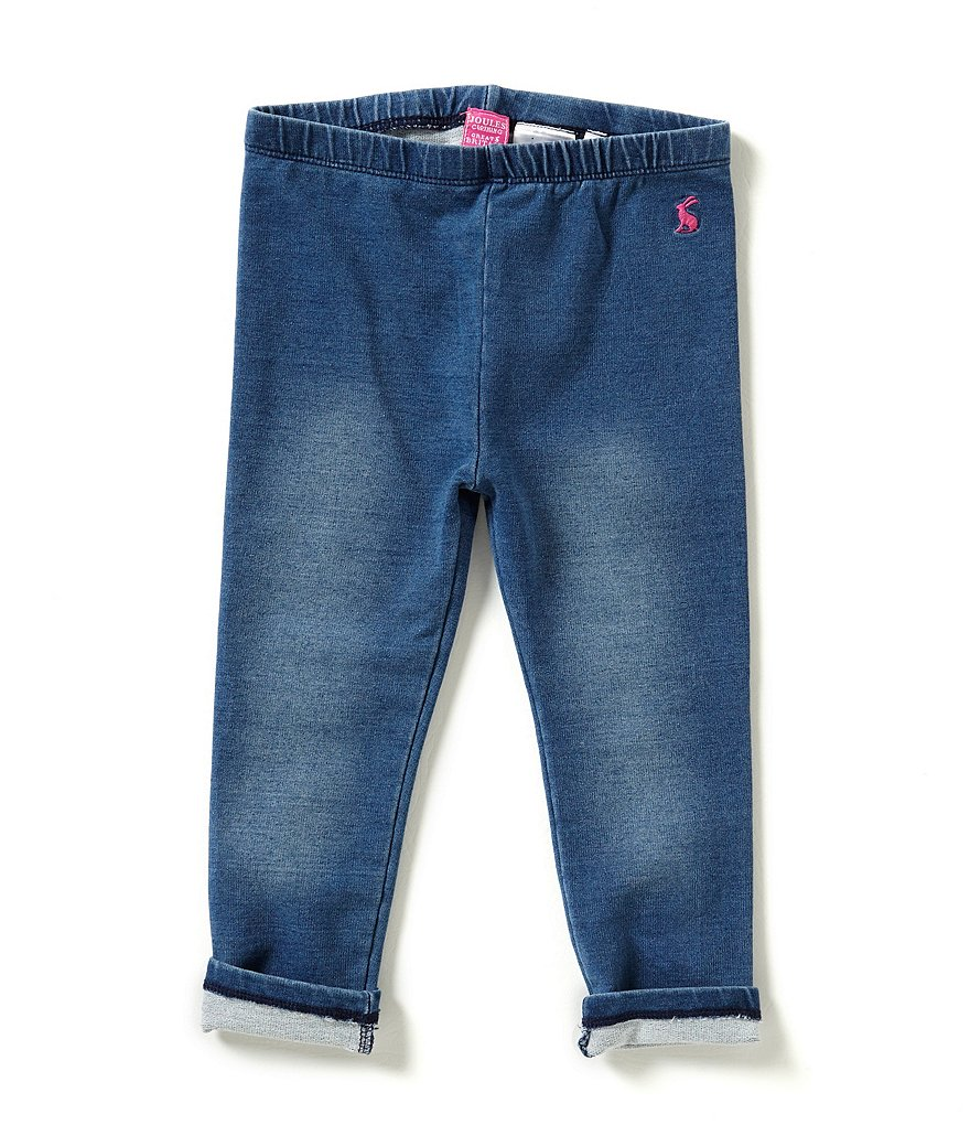 Joules Baby/Little Girls 12 Months-3T Denim Leggings