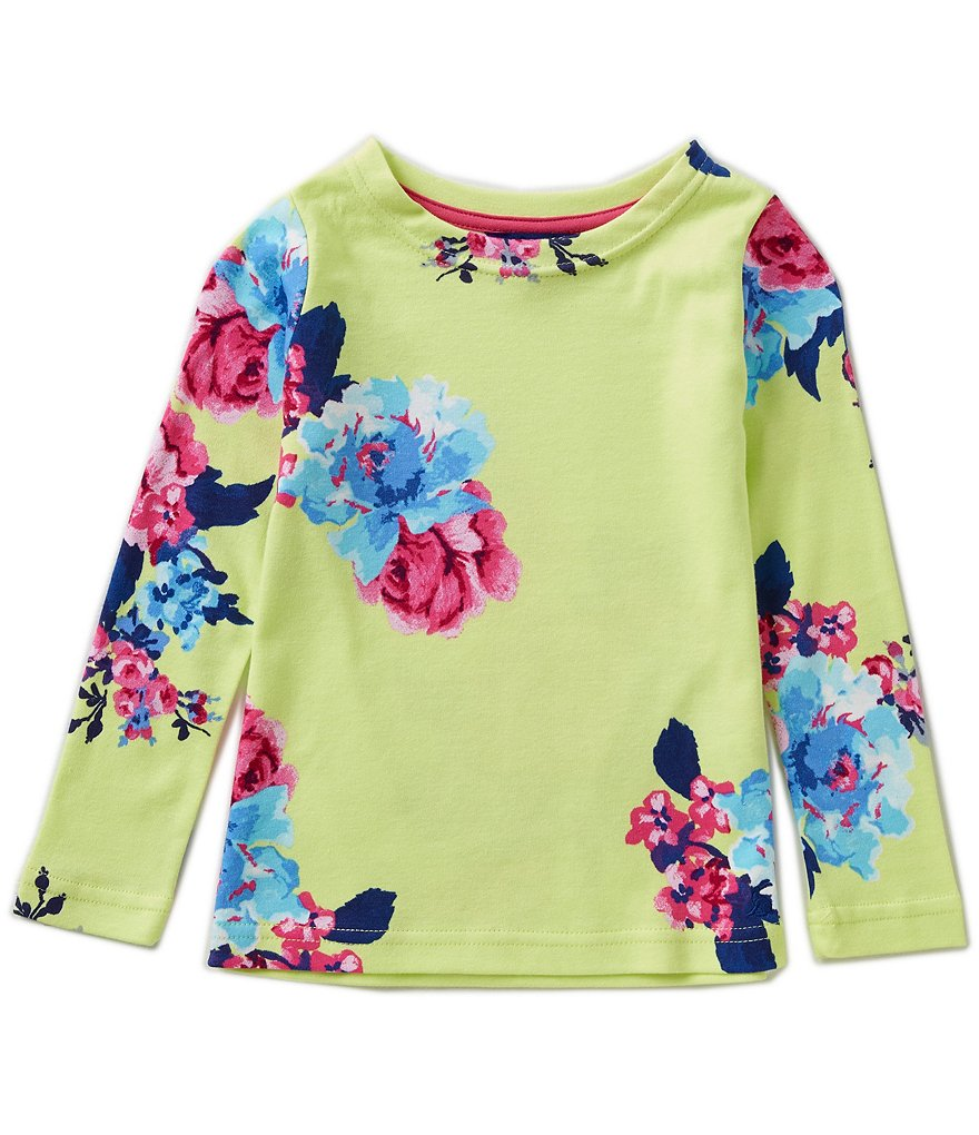 Joules Little Girls 3-6 Floral Print Top