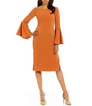 Keepsake Harmony Off-The-Shoulder Bell Sleeve Dress