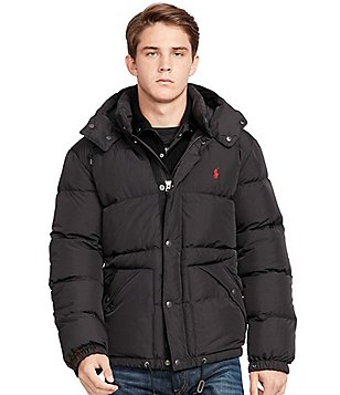 Polo Ralph Lauren Big \u0026amp; Tall Quilted Down Hooded Jacket