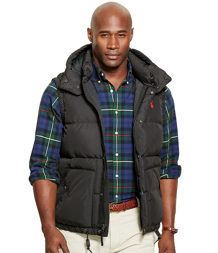 Polo Ralph Lauren Big & Tall Quilted Down Vest