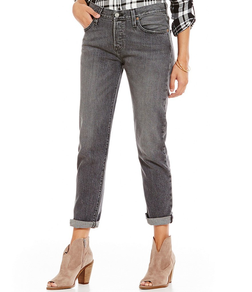 Levi´s 501 CT Rolled Boyfriend Jeans
