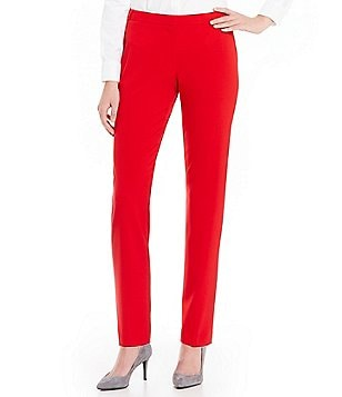 Calvin Klein Petites Luxe Stretch Suiting Modern Fit Highline Pants