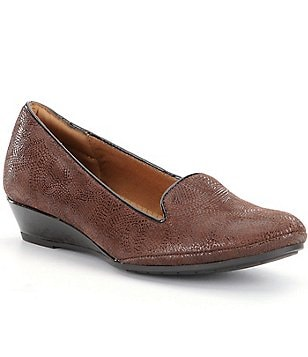 Montana Ames Wedge Slip Ons