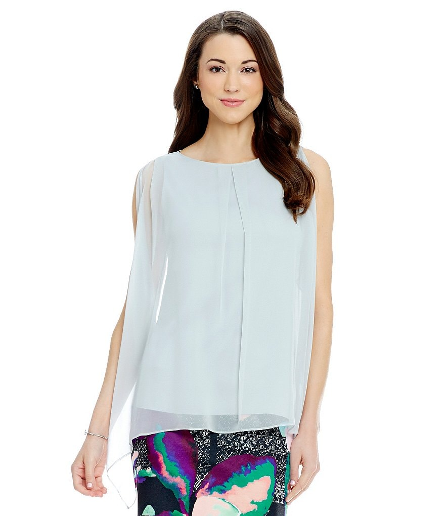 Antonio Melani Diano Sleeveless Silk Blouse
