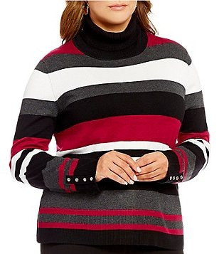 Investments Plus Turtleneck Long Sleeve Sweater