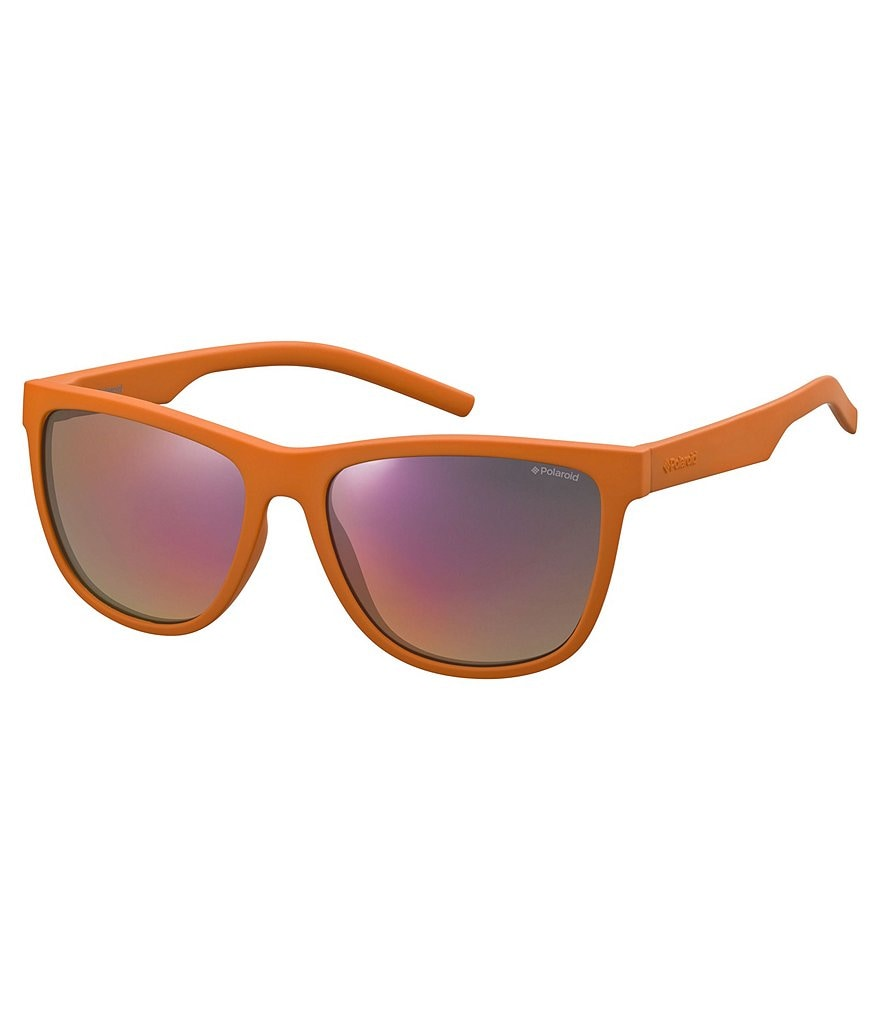 Polaroid Twist Flexible Rubber Classic Square Sunglasses