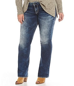 Silver Jeans Co. Plus Elyse Mid Bootcut Jeans