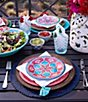 Color:Navy - Image 2 - Southern Living Lindo Beaded Round Placemat