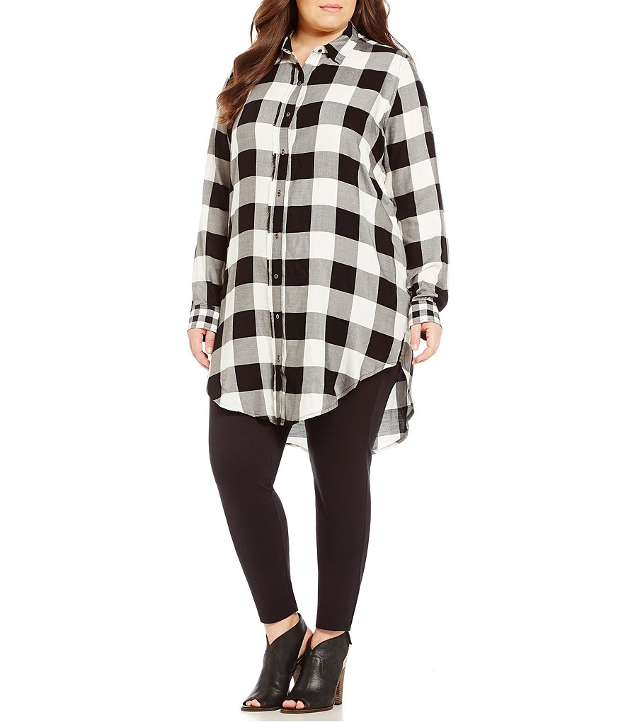 Westbound Plus Long Sleeve Tunic Top