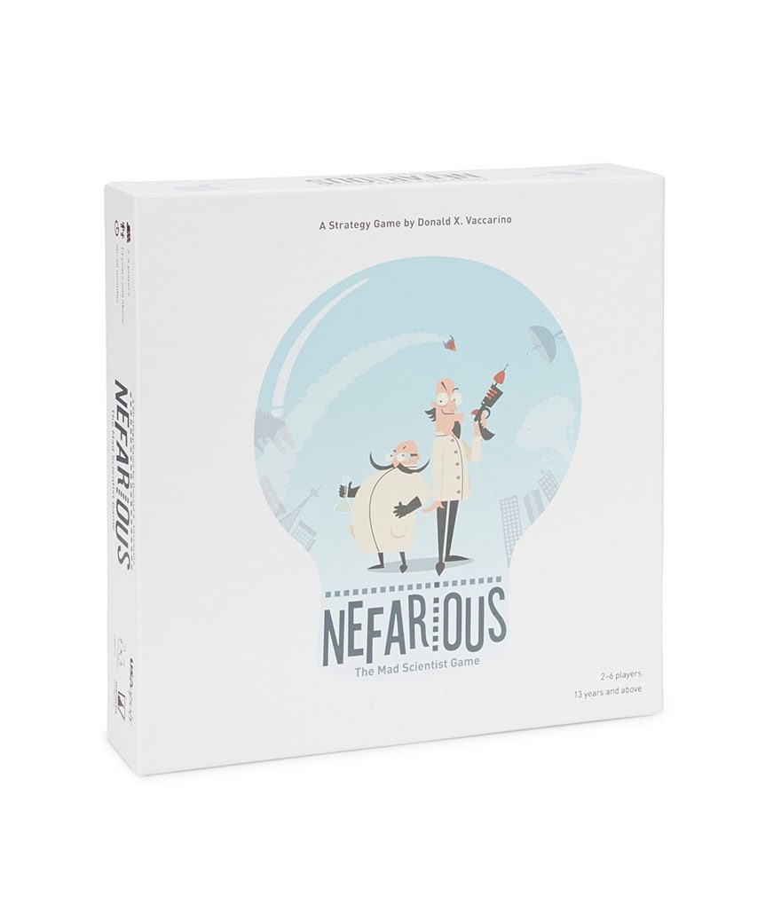 Usaopoly Nefarious: The Mad Scientist Game!
