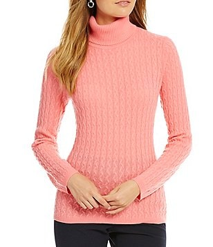 Alex Marie Savannah Cable Cashmere Sweater