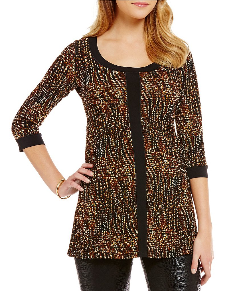 Eva Varro Pebble Band Front Tunic