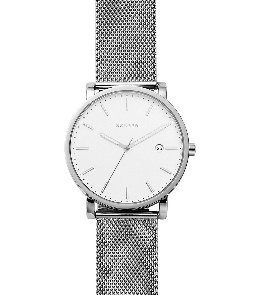 Skagen Hagen Stainless Steel Mesh Bracelet Analog Watch