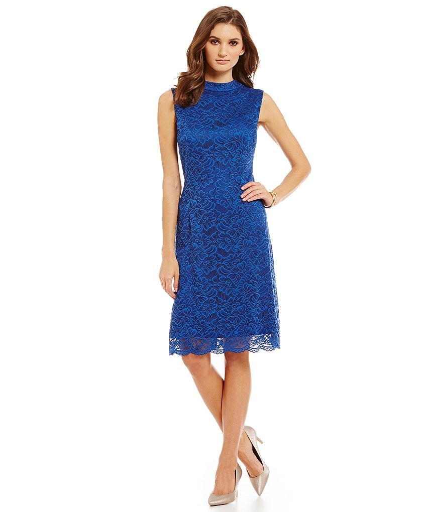 Preston & York Kara Lace Sleeveless Dress