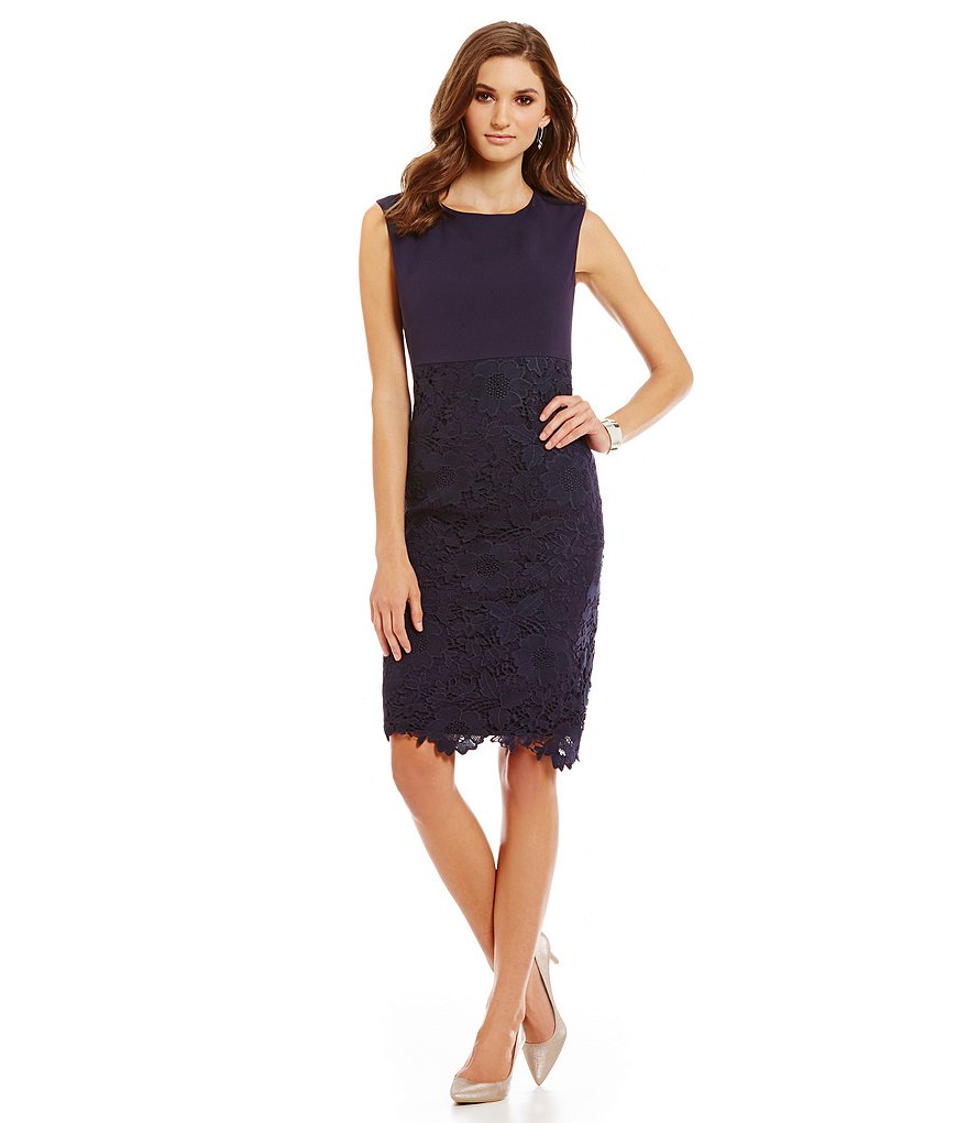 Preston & York Bennet Cap Sleeve Knit Dress