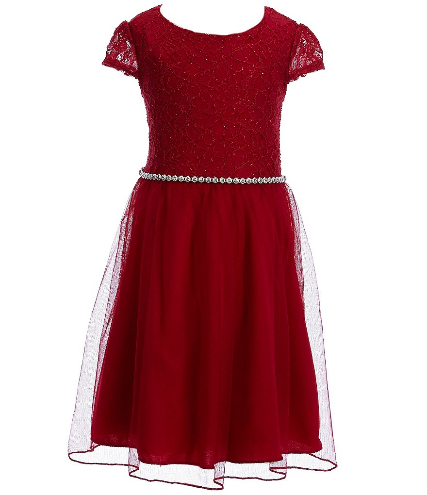 Xtraordinary Little Girls 4-6X Jeweled-Waist Dress
