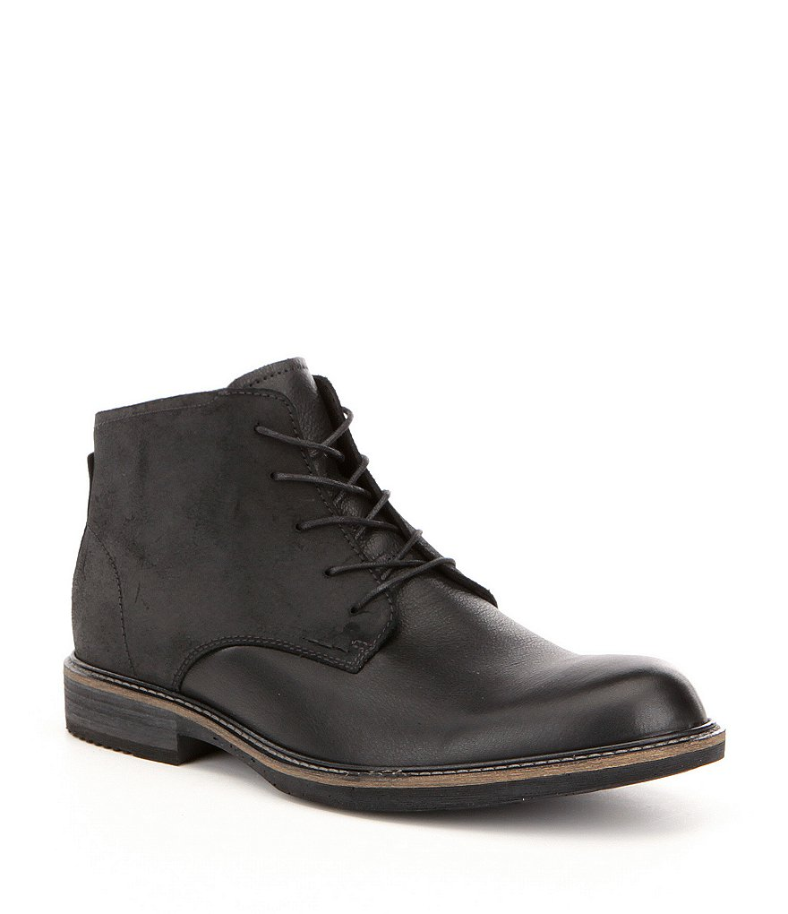 ECCO Men´s Kenton Vintage Leather Plain-Toe Boots