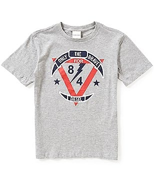 Diesel Big Boys 8-16 Graphic Short-Sleeve Tee