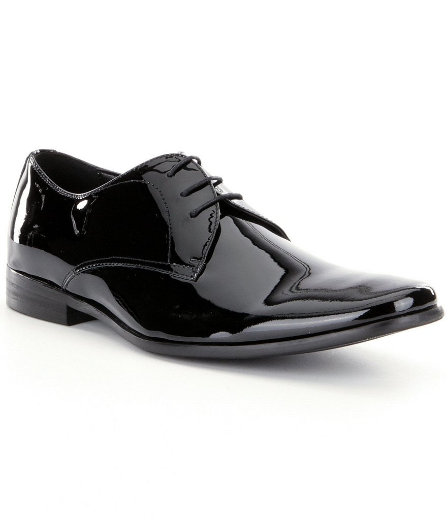 Steve Madden Men´s Hylife Patent Oxfords