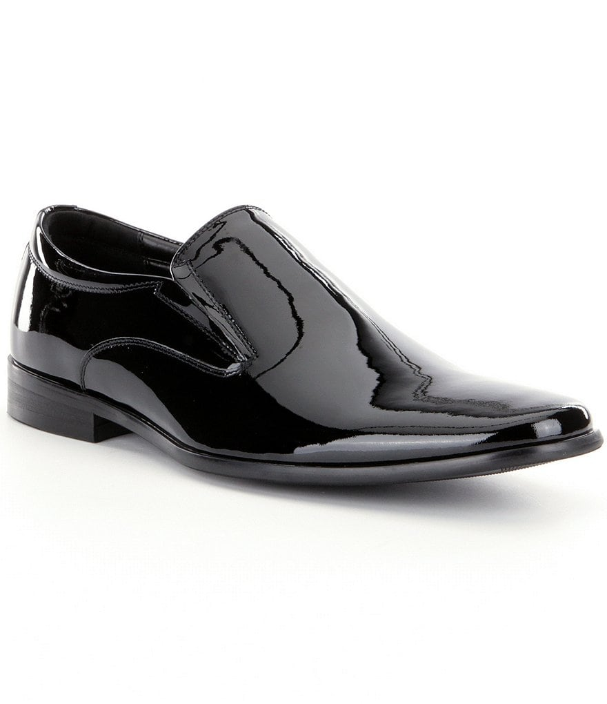 Steve Madden Men´s Hikick Patent Dress Loafers