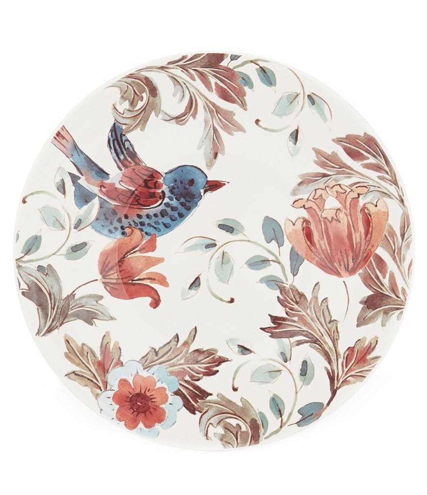 Southern Living Harvest Acanthus Salad Plate
