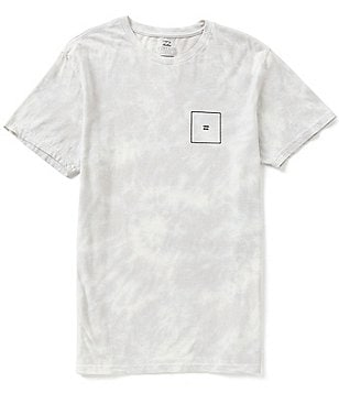 Billabong Squared Up Wave-Washed Softhand Graphic Print Premium Tee