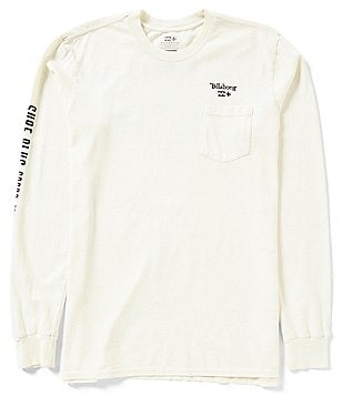 Billabong Speedway Heavyweight Long-Sleeve Pocket Tee