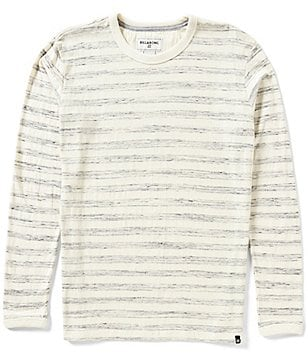 Billabong High Seas Long-Sleeve Striped Crew Tee