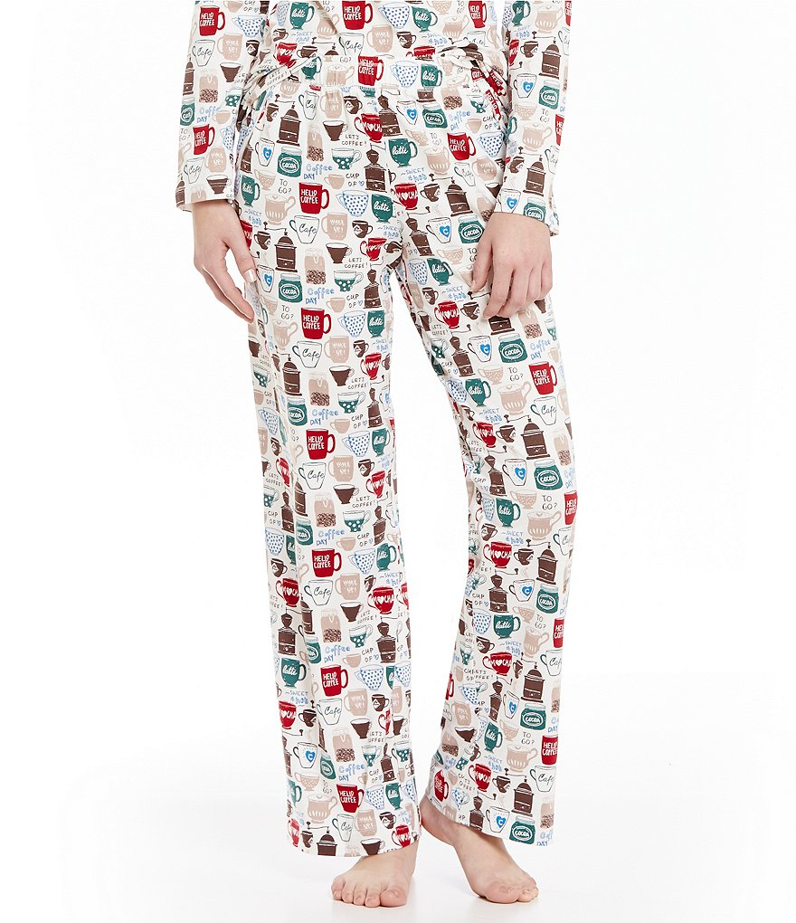 Sleep Sense Coffee & Tea Sleep Pants