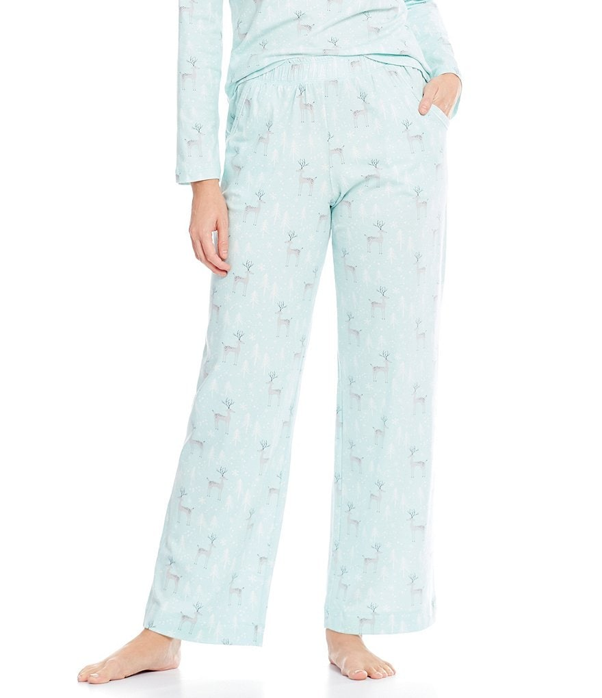 Sleep Sense Deer Jersey Sleep Pants