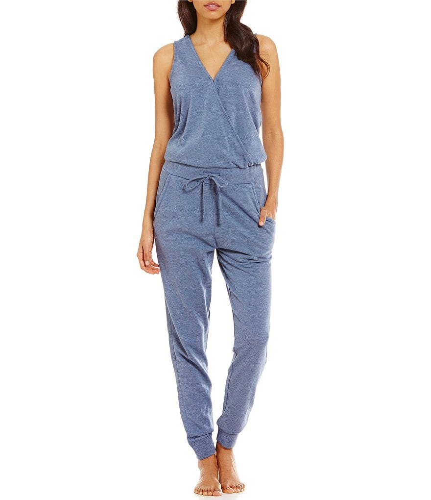 Jasmine & Ginger Fleece Lounge Romper