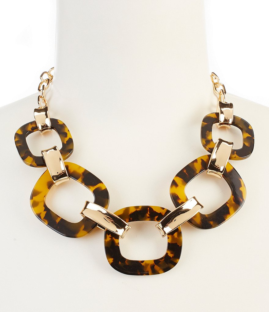 Kennedy Row Tortoise Collar Necklace