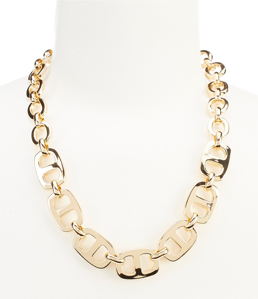 Kennedy Row Classic Link Collar Necklace