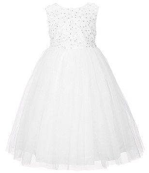 Marmellata Little Girls 2T-6X Soutache Bodice Flower Girl Dress