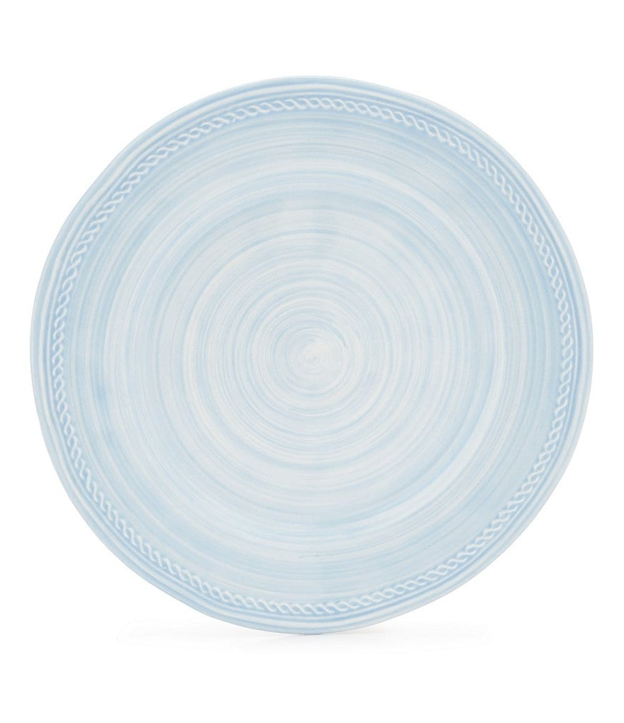 Cremieux Rope-Embossed Earthenware Salad Plate