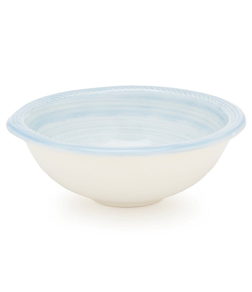 Cremieux Rope-Embossed Earthenware Cereal Bowl