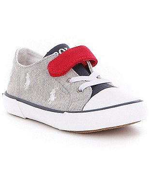 Polo Ralph Lauren Boy´s Kody Stretch Hook and Loop Sneakers