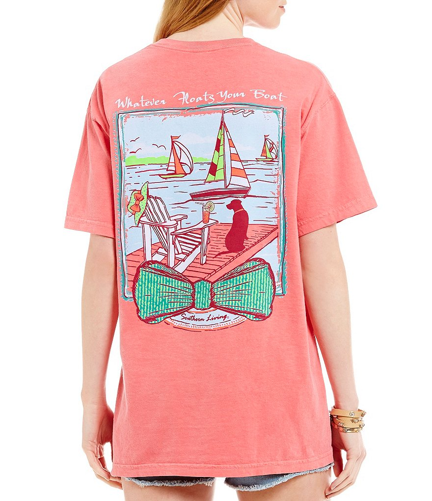Southern Living Float Your Boat Graphic Tee