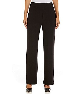Lysse Leigh Crepe 4-Way Stretch Wide Leg Pant