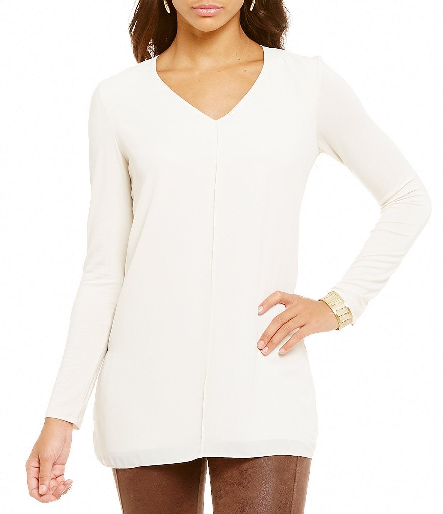 Lysse Linden Long Sleeve Blouse