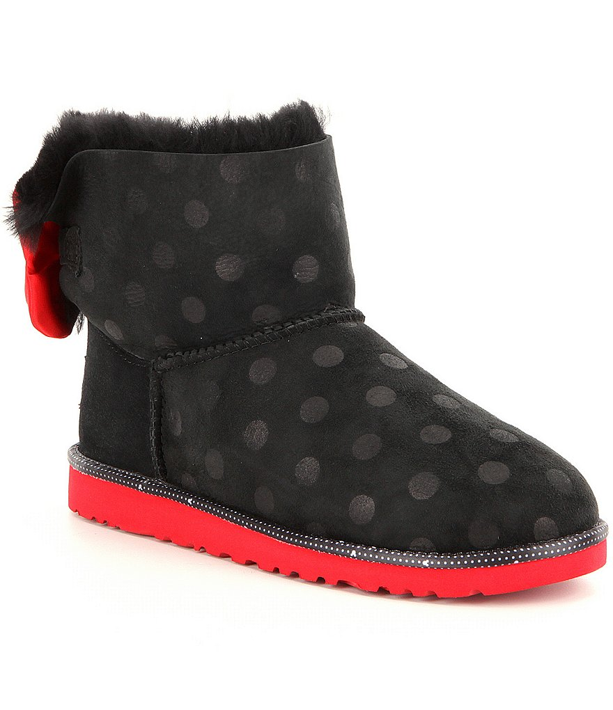 UGG® Girls´ Disney® Sweetie Bow Classic Polka-Dot Boots
