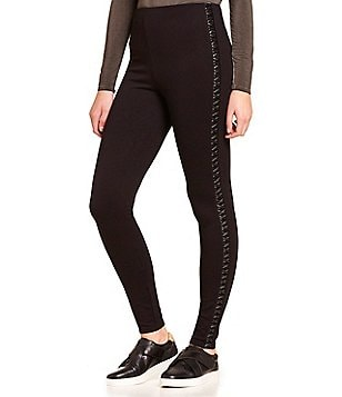Lysse Faux Leather Trim Dakota Legging