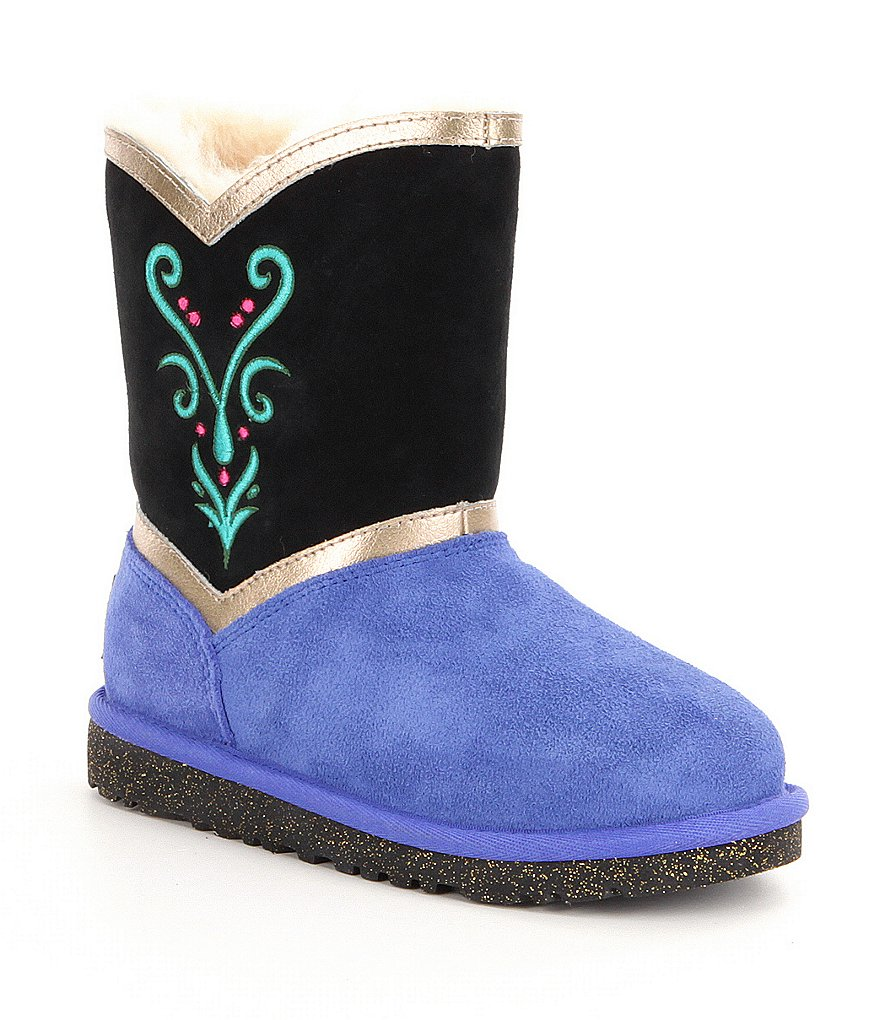 UGG® Girls´ Disney® Anna Coronation Color-Blocked Boots