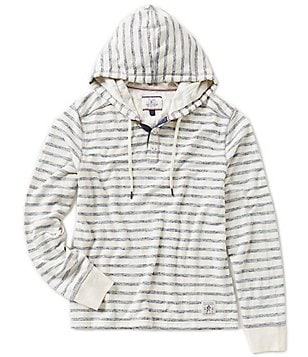 Flag & Anthem Bedford Nautical-Striped French Terry Hoodie