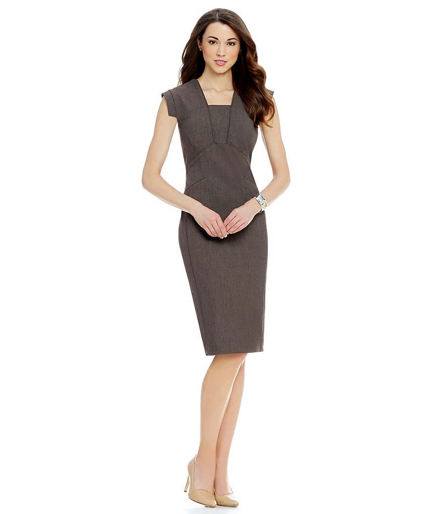 Antonio Melani Lora Stretch Twill Dress