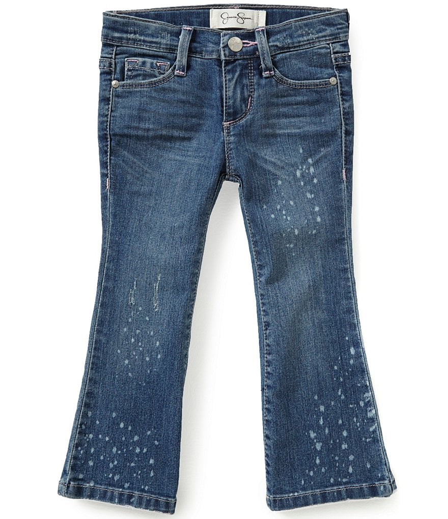 Jessica Simpson Little Girls 2T-6X Sunshine Bootcut Jeans