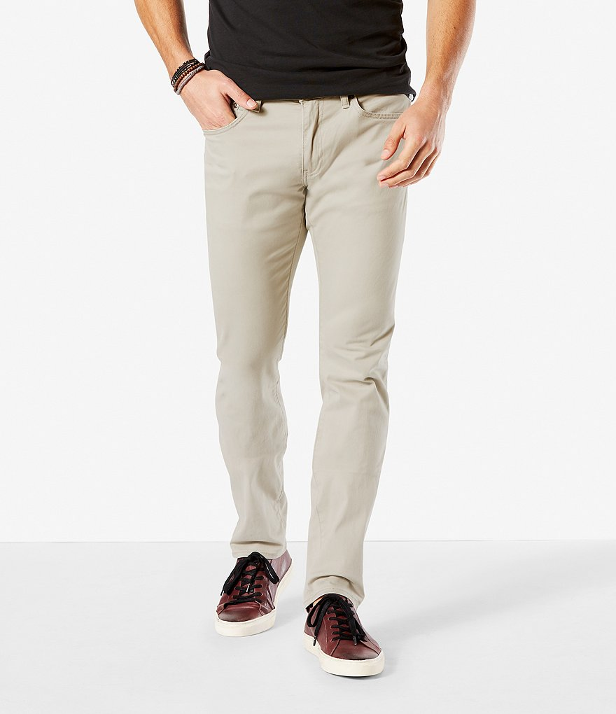 Dockers 5-Pocket Stretch Slim-Fit Pants