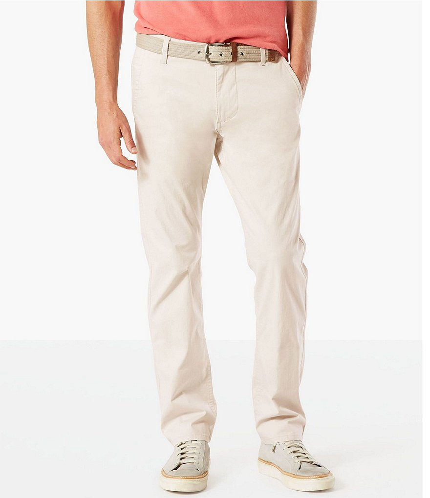 Dockers Alpha Khaki Slim Tapered Stretch Twill Pants